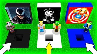 😱🕳️ NO EL JAS EL AGUJERO EQU VOCADO BENDY VENOM Y K CK THE BUDDY En M NECRAFT