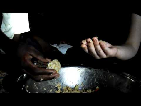 Eating with hands, Burkina Faso