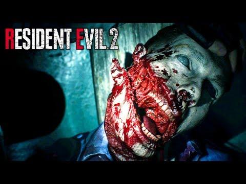 ЛЕГЕНДА ХОРРОР ИГР ЗДЕСЬ! ► Resident Evil 2 Remake 2019 Demo Прохождение ► ХОРРОР ИГРА