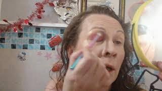 Мой богатый макияж прическа иду на тусовку