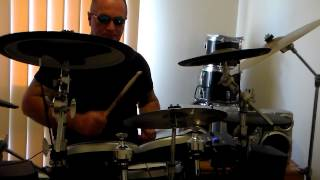 ZZ TOP planet of women (drum cover)