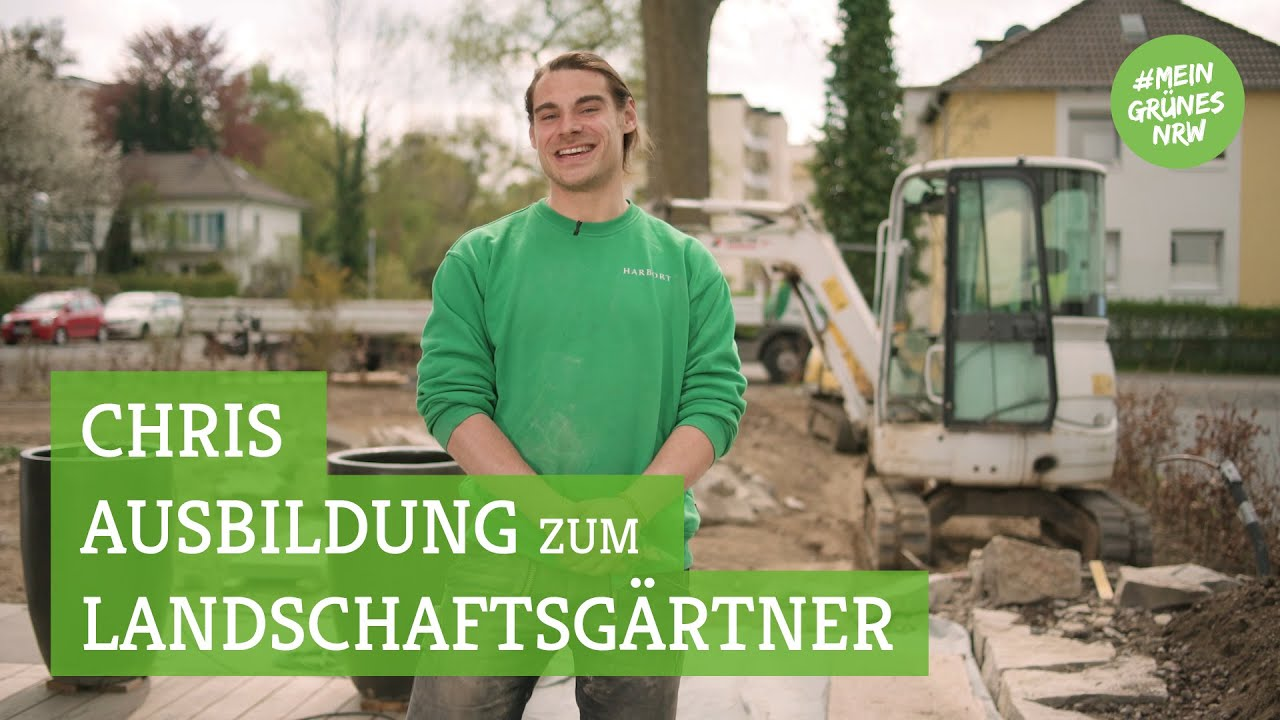 Meine Ausbildung Im Garten Und Landschaftsbau Chris Plashues
