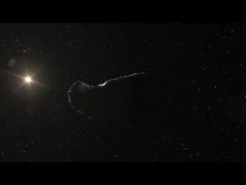 Asteroid Itokawa Moving Through Space | ESO Science HD