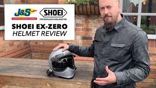 Shoei EXZero Helmet review  Jamp;S Accessories Ltd