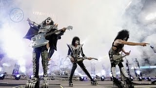 KISS - Detroit Rock City - Dodger Stadium, 25/01/2014 (LA Kings vs. Anaheim Ducks) thumbnail