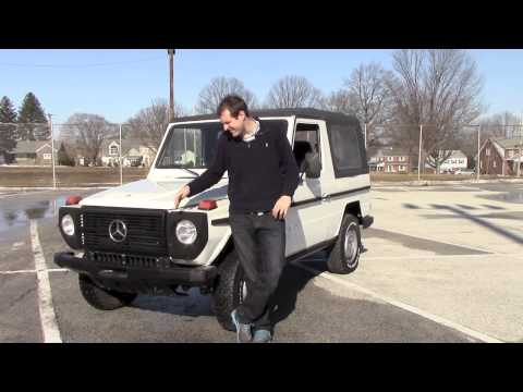 Reviewing a 1987 Mercedes G-Wagen