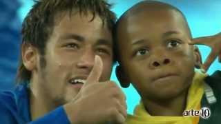 Uma comparação entre Messi, Cristiano Ronaldo, David Luiz e Neymar