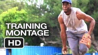 42 - Chadwick Boseman Training Montage (2013) - Jackie Robinson Movie HD
