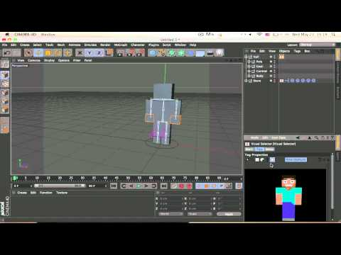 Cinema 4D - Rigging Tutorial and Cmotion