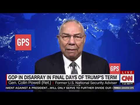 Colin Powell says he's no longer a Republican