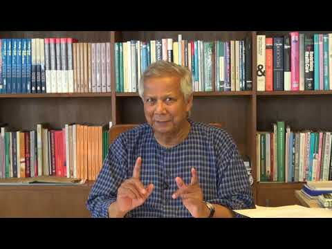 Nobel Laureate Prof Yunus Welcomes students to new UNSW course