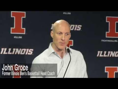 WATCH: John Groce fired as Illinois men's basketball head coach
