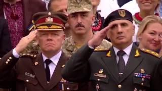 День Незалежності України, парад Київ 2016, проходження військ, президент Порошенко, 72-га бригада