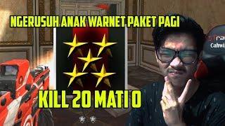 KEMBALI NYA HERO TUKANG RUSUH PUBLIK !!! KILL 20 MATI 0 -  POINT BLANK GARENA INDONESIA