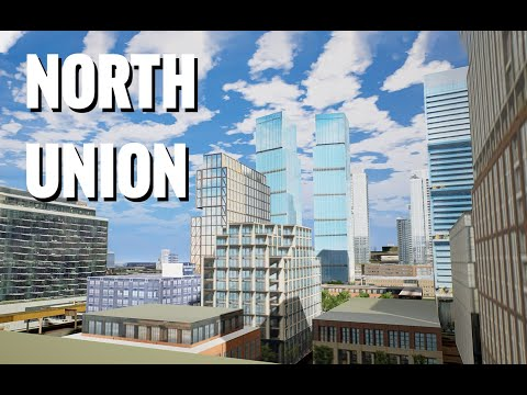 3D Fly-through Of The North Union Chicago Development