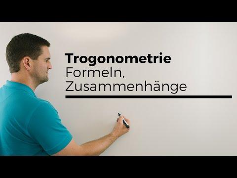 Trigonometrie, Formeln, Zusammenhänge, Überblick soweit wie möglich | Mathe by Daniel Jung from YouTube · Duration:  3 minutes 39 seconds