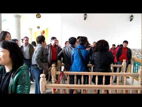 Hakka Tulou Fujian China Tourist Arguing With Tour Guide #1 土樓 福建