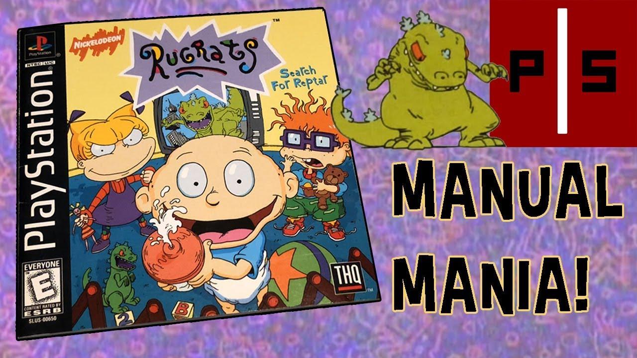 Rugrats: Search for Reptar (PS1) | Manual Mania | Exploring Classic Video  Game Manuals | 4K