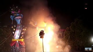 Ravaan On Fire | Diffrent Types Of Ravaan On Dussehra | Dussehra Special | VBO Life | 2018