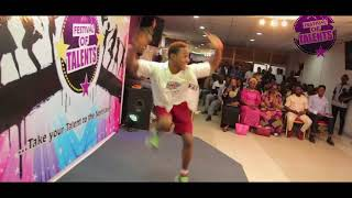 Segun Perform 'Why You Love Me So' By NOSA At Festival of Talents Season 2
