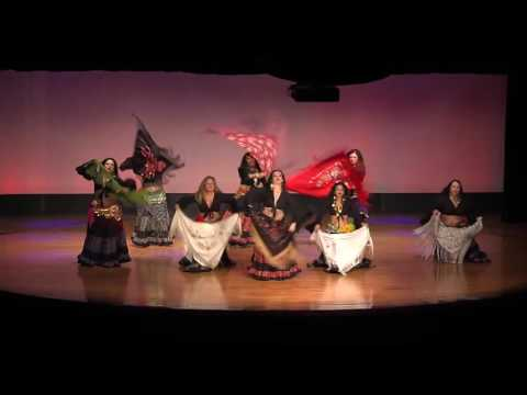 2016 Belly Dance Show at Miami Dade College Kendall Campus