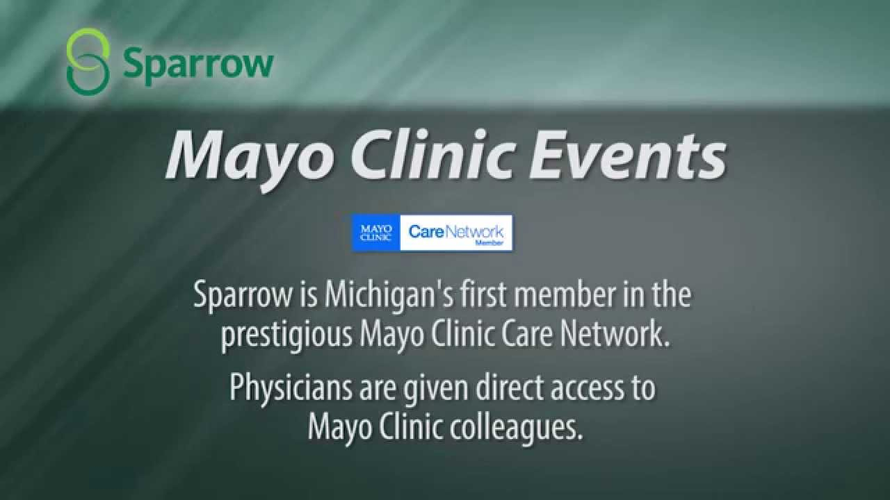 Mayo Clinic presents free public events - SparrowTV