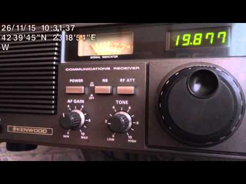 """SW DX - S06 """"Russian Man"""" Number Station with Target to the Pacific, received in Sofia, Bulgaria"""