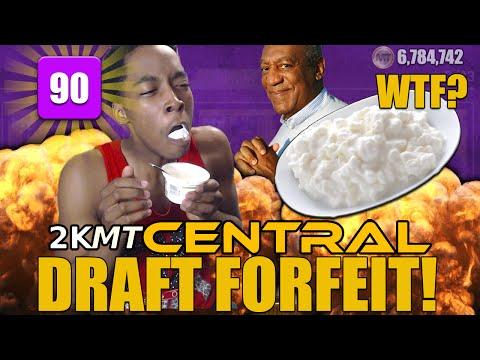 90 OVR DRAFT FORFEIT! EATING CHUNKY.... NBA 2K16 2KMTCentral Draft!