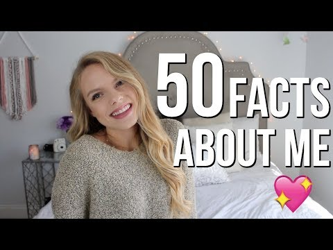 50 Facts About Me! I'm related to Taylor Swift??!!