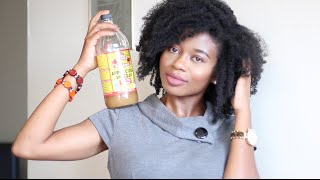 How To Stop Itchy Scalp & Prevent Dandruff w/ Apple Cider Vinegar