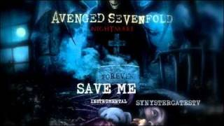 Repeat youtube video Avenged Sevenfold - Save Me (Official Instrumental)