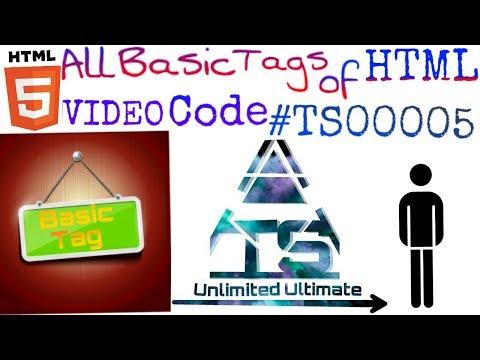 HTML All Basic Tags In Hindi | #TS00005 | HTML Tutorial | Day 4 | HTML Code | Html Hindi