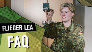 FAQ Flieger Lea | DIE REKRUTINNEN | SPECIAL
