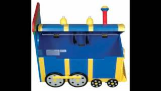 Guidecraft Train Toy Box
