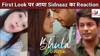 Sidnaaz Reaction on First Look of Darshan Raval's Song Bhula Dunga | Music Video