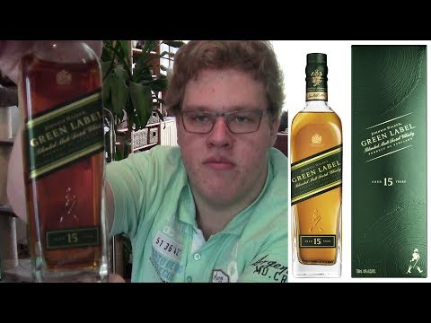 """(English) Ronald Reviewed: """"Johnnie Walker: Green Label 15 Years"""" (Blended Whiskey)"""