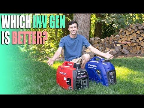 Best RV Inverter Generator? - Honda EU2200i vs Westinghouse iGen2500