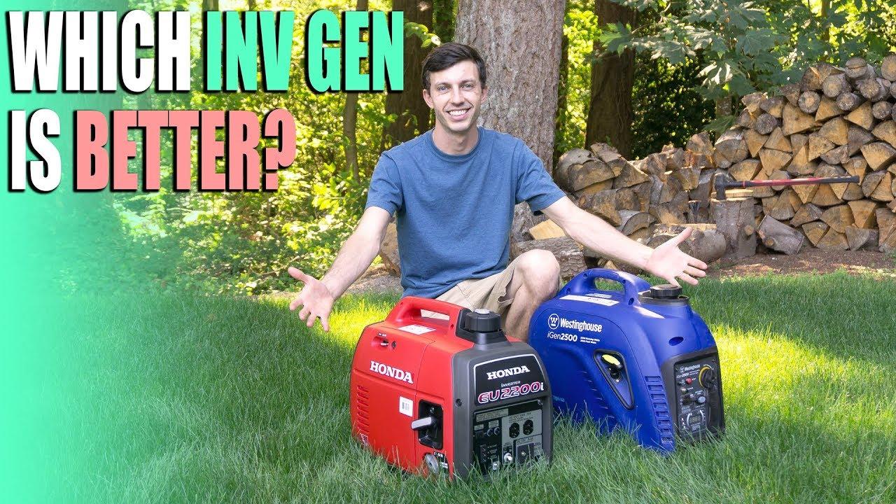 Best RV Inverter Generator? - Honda EU2200i vs Westinghouse