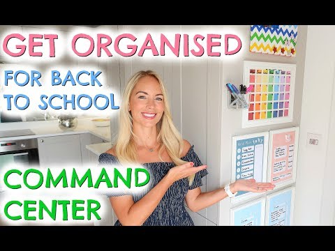 GETTING ORGANISED!  DIY COMMAND CENTER  |  EMILY NORRIS