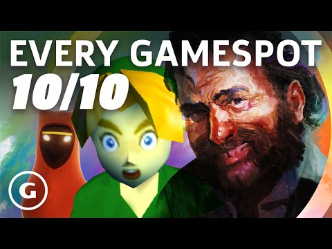 Every 10/10 Game In GameSpot's History