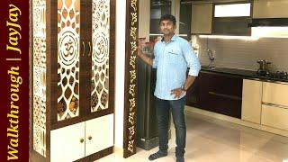 Modern 3BHK Apartment | Interior Walk through of Shiva