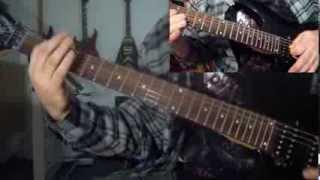 Pestilence - Suspended Animation (guitar cover)