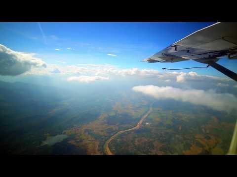 Aerial view of Sri Lanka from a Cessna 208 Amphibian Caravan