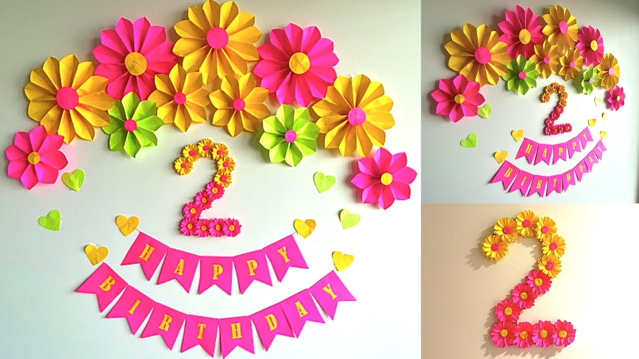 Flower Birthday Banner