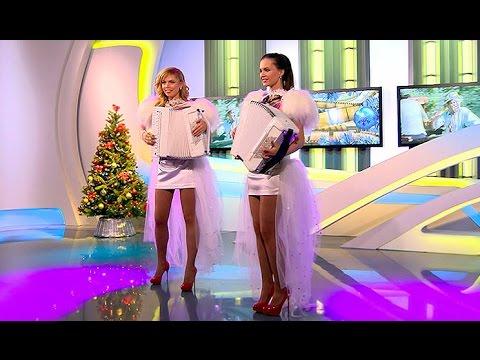 "GIRLS MUSIC BAND ""LiubAnya""  Дуэт ""ЛюбАня""- ""Новогоднее попурри"" артисты на новый год"