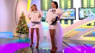 Самые красивые аккордеонистки России дуэт ЛюбАня Новогоднее попурри DUET LA