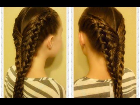 Diving Mermaid Braid Hairstyle Tutorial, Inspired By ...