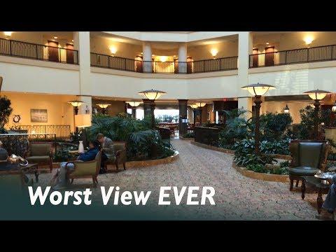 Priceline Peeks & Pitfalls:  Renaissance Hotel & Convention Center - Tulsa, OK.  Worst View Ever!
