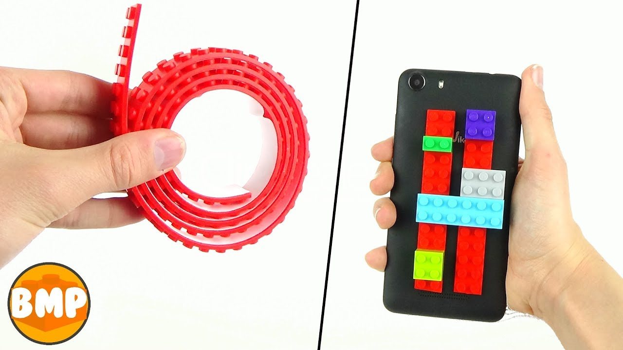 4 LIFE HACKS WITH LEGO TAPE | Easy - YouTube