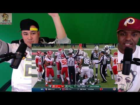 Chiefs vs Jets | Reaction | NFL Week 13 Game Highlights